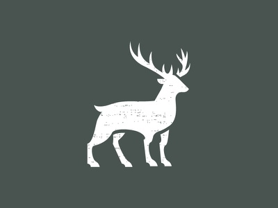 Deer (Available) design branding icon symbol logo deer