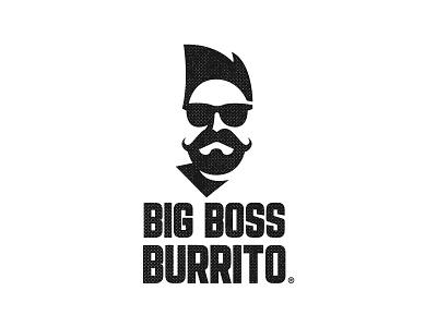 Big Boss Burrito illustration vector mark