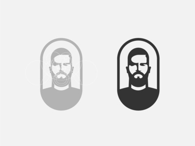 Alisson Becker symbol negative space logo negative space soccer logo goalkeeper face logo design