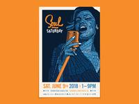Soul Saturday Poster