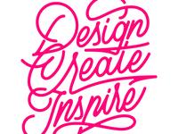 Design. Create. Inspire