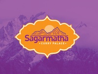 Sagarmatha Curry Palace Logo