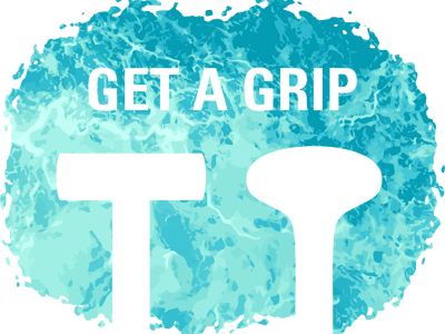 Get A Grip grips handles dragonboat paddle water turbulent