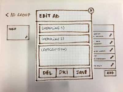 Edit Ad ui sem prototyping paper adgroup
