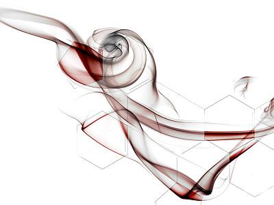 Conferring Bonds texture lines geometric illustration