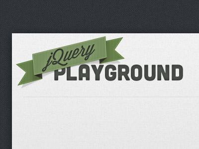 jQuery Playground web ui jquery playground experiment