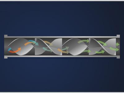 Static Mixer technical illustration