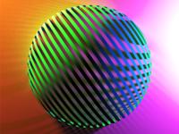 Ribbon Sphere