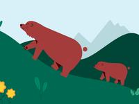 Rock Climbing Bears