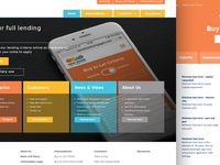 New mortgage lender website