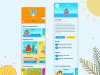 Kids summer stories app