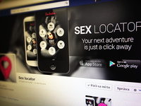 Mobile Dating App - Facebook cover