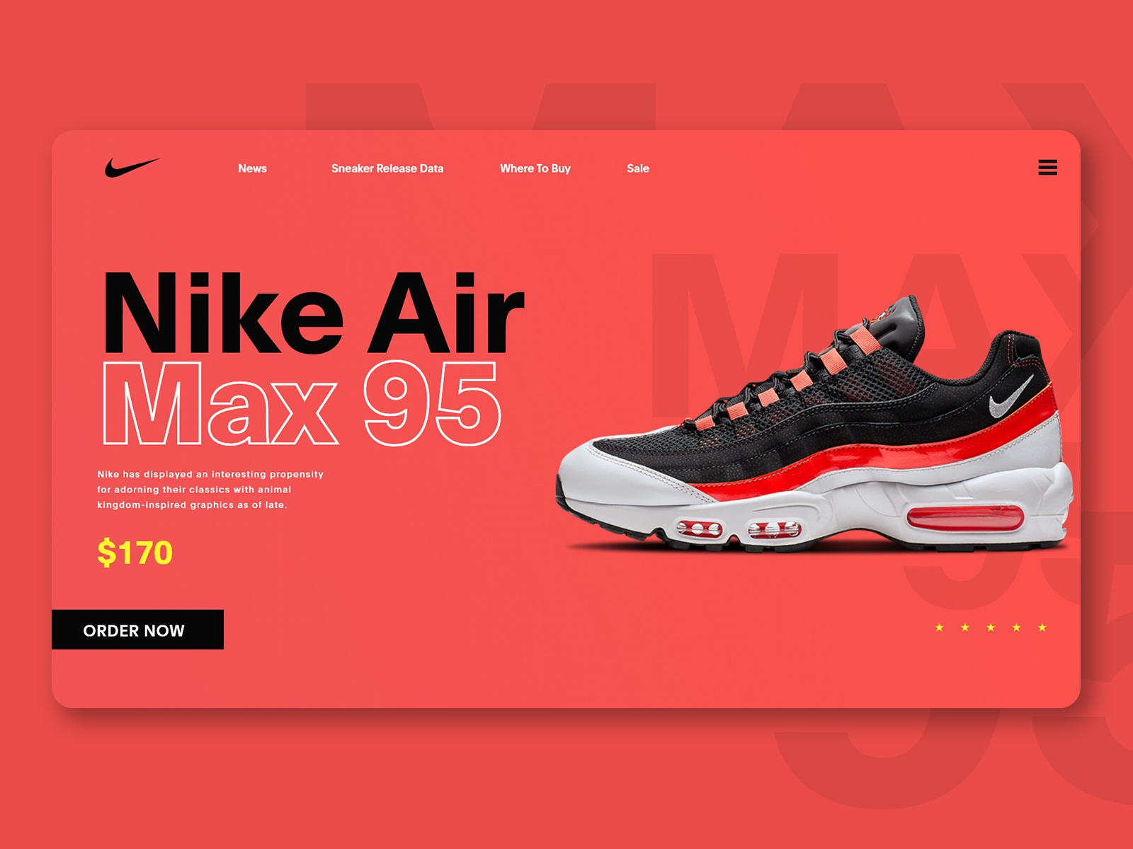 Nike Air Max 95 by Rendi Maulana on