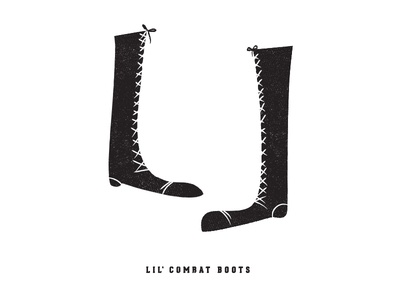 lil' combat boots