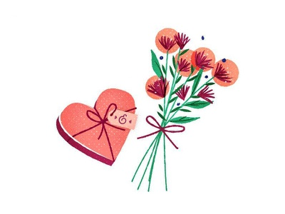 Love you, mean it valentine valentines bouquet flowers love heart
