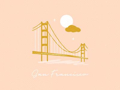 I left my heart in San Francisco romantic moonlight golden gate bridge ca california san francisco san fran
