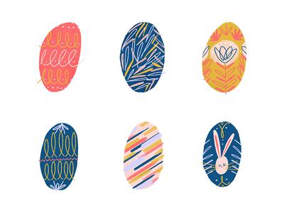 Easter Eggs! pattern rabbit bunny easter eggs eggs easter