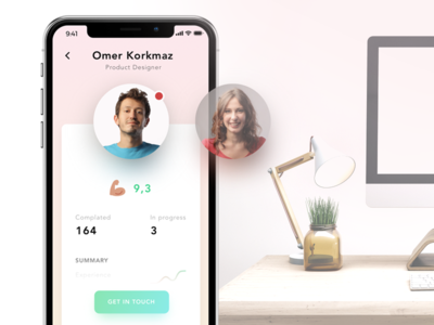 Hire Freelancers and Get Freelance Jobs sketch app mobile flat remote iphone x job freelance