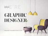 RentoMojo in search of Graphic Designer