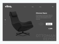 Vitra Web Product E-commerce UI