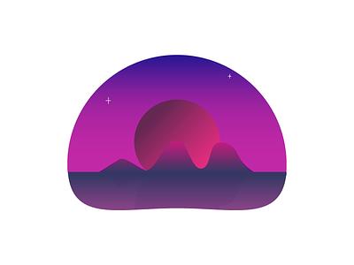 Home purple pink gradient philippines sunset beach