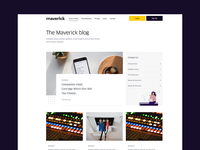 Maverick Blog