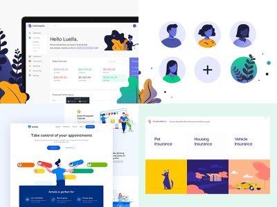 top 4 from 2018 agency css homepage design website