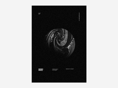 Design Space - Abstraction from Image 3 type typography skillshare poster design poster black planet space art design graphic design