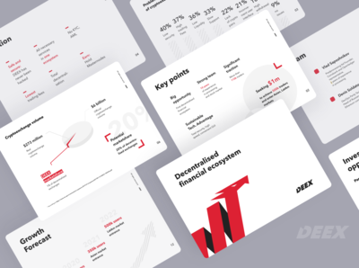 Presentation Design for Cripto Brocker