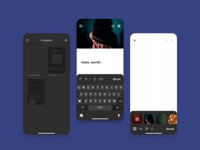 Site Constructor Mobile App Concept