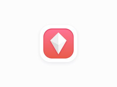 Mobile App Icon - 3D Scan Box App