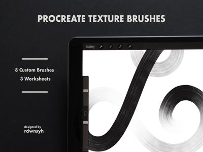Procreate Texture Brush: Threads