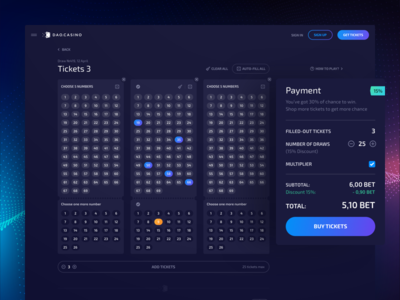 Blockchain Lottery: Open game