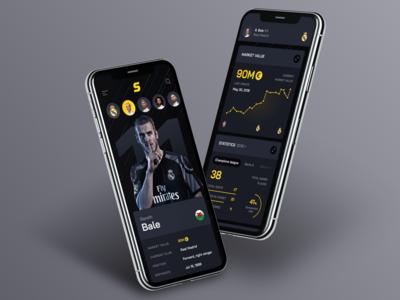 Sport transfers: Player profile. Mobile