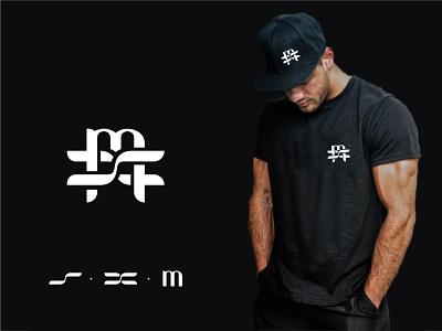 SXM - Logo Identity startup logo designer clothing brand branding agency clothing logomark logo and branding brand identity monogram lettermark vector icon design branding logo design concept symbol logo flat minimal