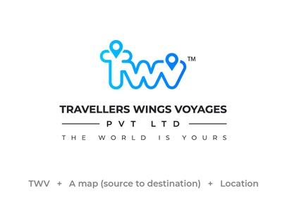 Logo For Travellers Wings Voyages