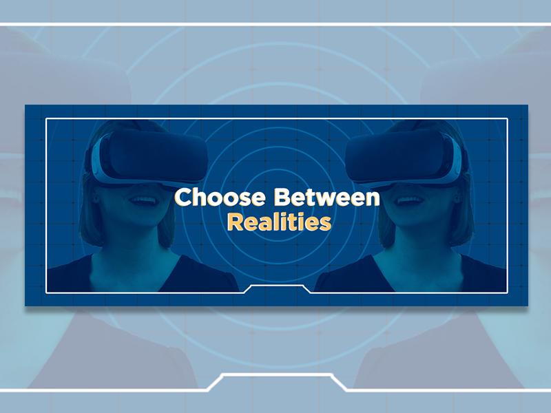 Banner for VR Blog Post banner design marketing banner marketing blog banner realities vr banner