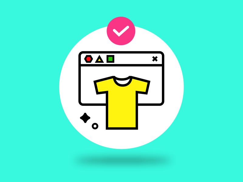 Clothing Icon ecommerce ux ui icon lookhuman