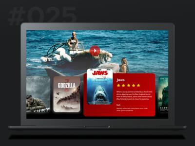 Daily Ui 025 -TV App