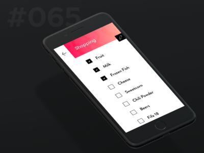 Daily Ui 065 - Notes Widget