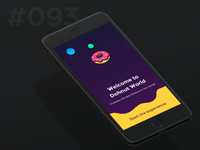 Daily Ui 093 - Splash Screen