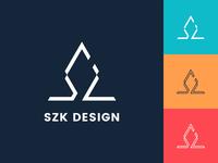 Personal logo | SZK DESIGN