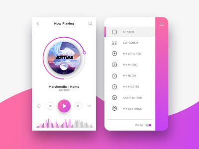 Music Player webdesign graphicdesigner graphicdesign flatdesigns uxdesigns uxtrends uidesigner uidesign ux ui uimusic musicplayer