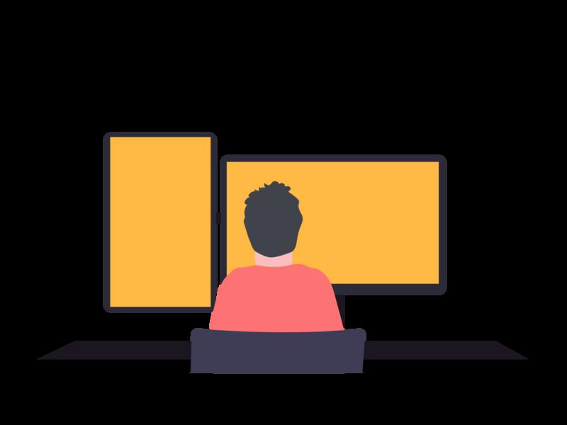 Programming illustration ui programming software development