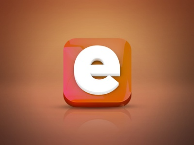 Everpix Icon - 3d Version