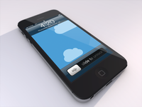 iPhone 5 template preview