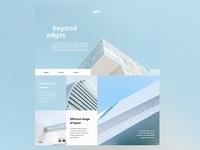 Architecture Website UI Design