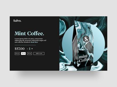 Salvo Coffee Packaging & Online Store
