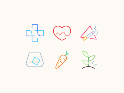 Personal Health Icons