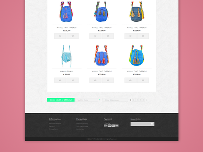 Maravillage Bags web magento design flat purses bag wayuu shop